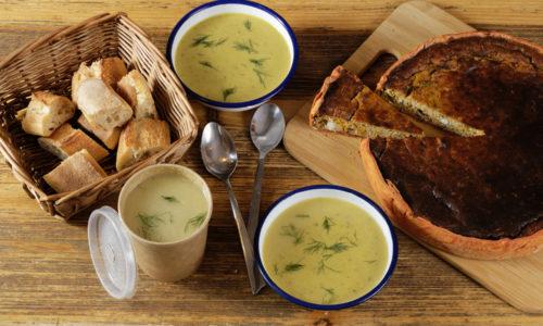 Tarte et Soupe Atelier saisonnier formule midi