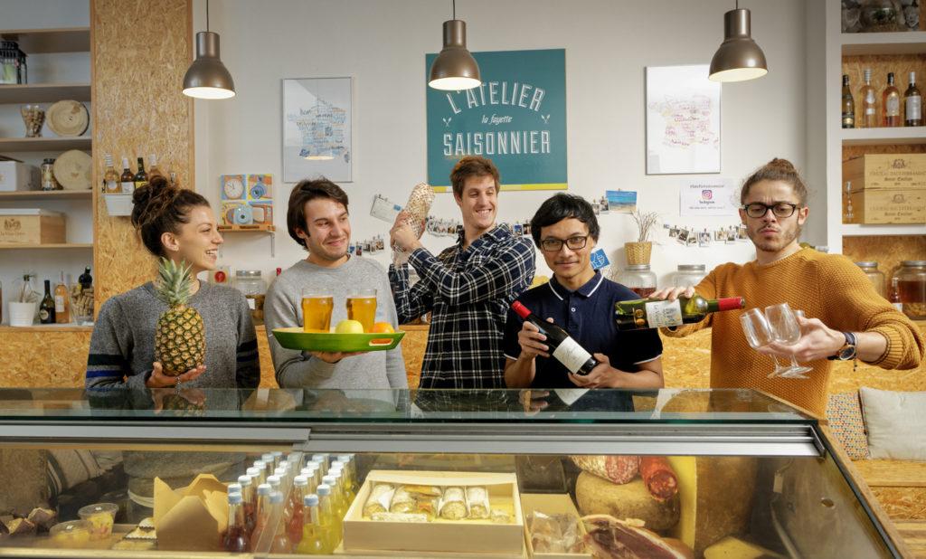 Atelier saisonnier équipe La Fayette - Planches charcuterie fromage paris