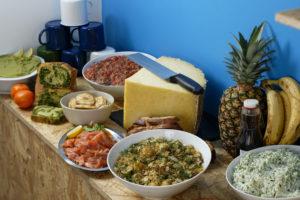 Buffet brunch avec partie salée